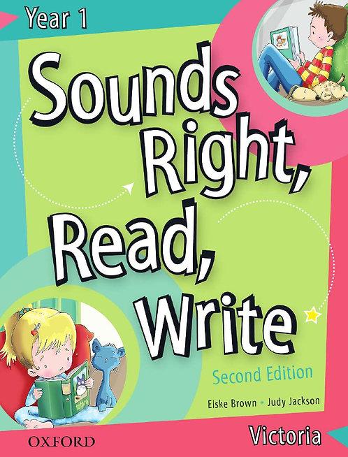 Sounds Right, Read, Write Victoria Book 1 2E