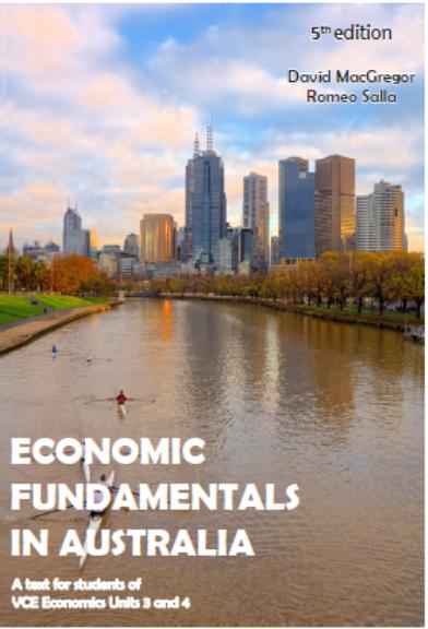 Economic Fundamentals in Australia Units 3&4 5E