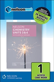 Nelson Chemistry Units 3&4 for the Australian Curriculum (DIGITAL)