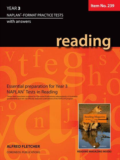 Reading Year 3 - NAPLAN* Format Practice Tests #239