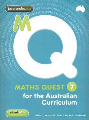 Maths Quest 7 for the Australian Curriculum & eBookPLUS