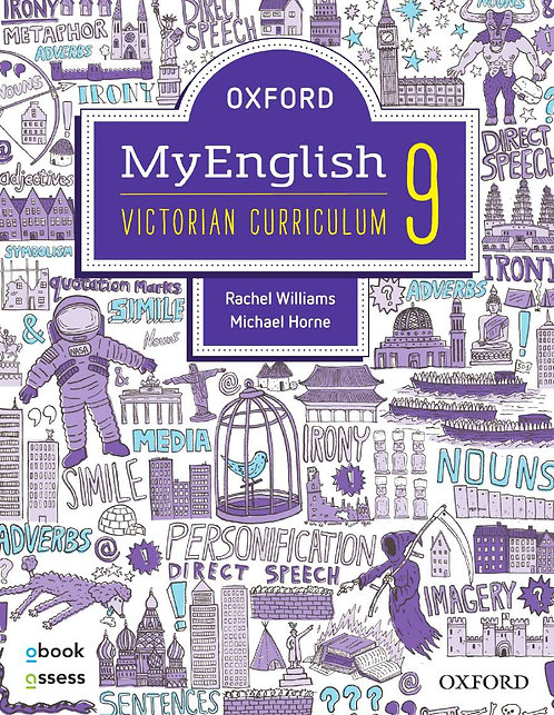 Oxford MyEnglish 9 Victorian Curriculum + Upskill (PRINT + DIGITAL)