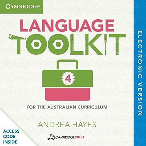 Language Toolkit 4 for the Australian Curriculum (DIGITAL)