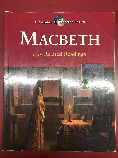 The Global Shakespeare Series Macbeth (SECOND HAND)