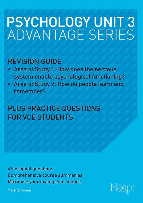 Psychology Unit 3 Advantage Series (2017 Ed)