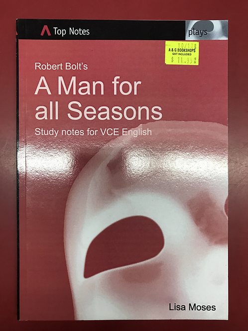 Top Notes: A Man For All Seasons (SECOND HAND)