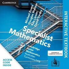 Cambridge Senior Maths: VCE Mathematical Methods Units 1&2 Interactive Text DIG