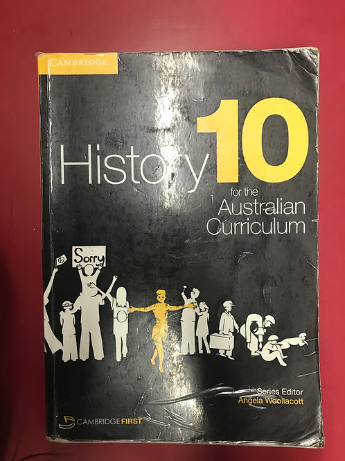 Cambridge History 10 for the Australian Curriculum (SECOND HAND)