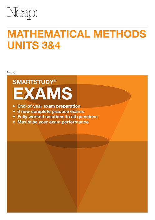 Maths Methods Units 3&4 Exams Guide (2016 Ed)