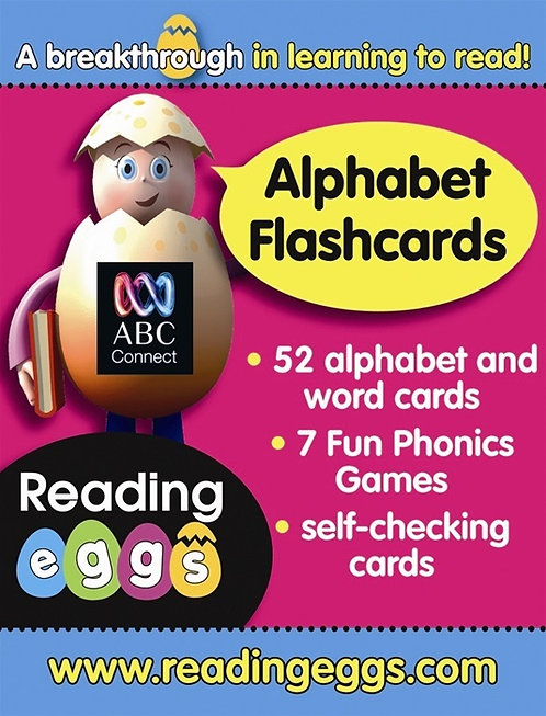 ABC Reading Eggs: Beginning to Read Alphabet Flashcards