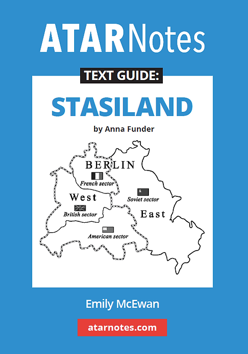 ATARNotes Text Guide: Stasiland