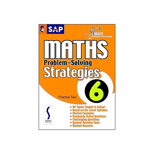 SAP Maths Problem-Solving Strategies Book 6