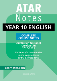 ATARNotes Year 10 English Complete Course Notes
