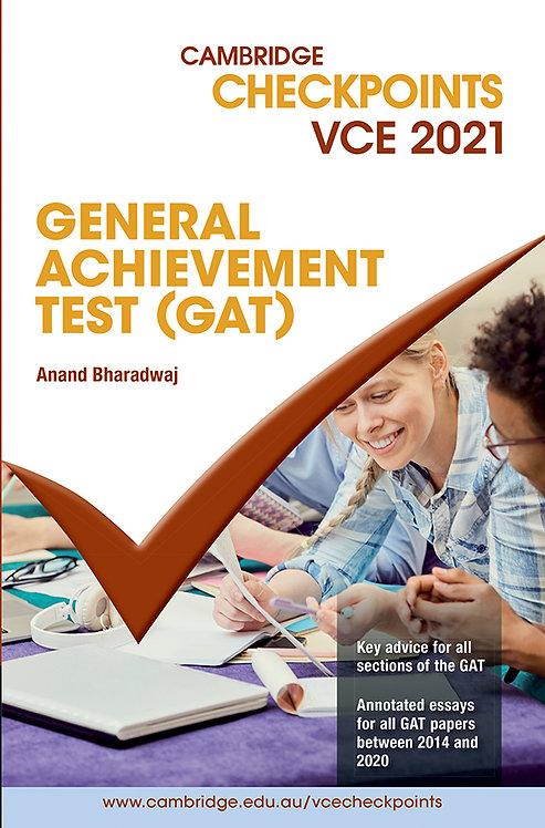 Cambridge Checkpoints VCE General Achievement Test 2021