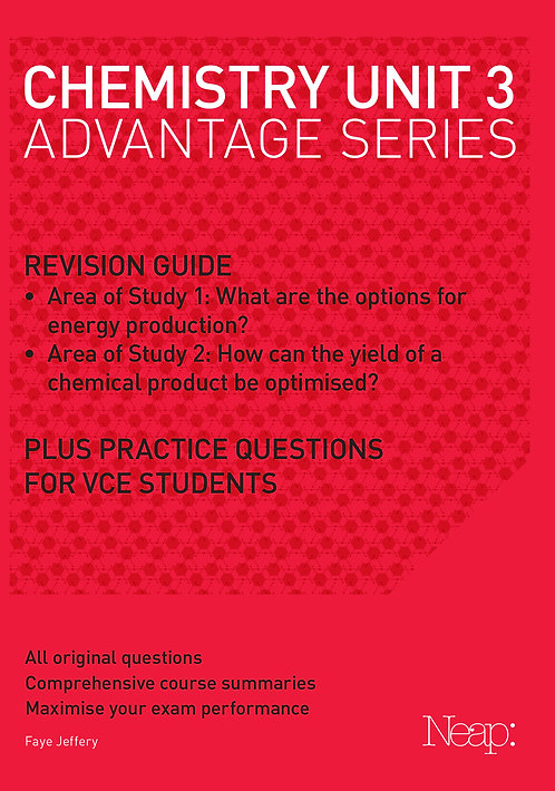 Chemistry Unit 3 Advantage Series (2017 Ed)