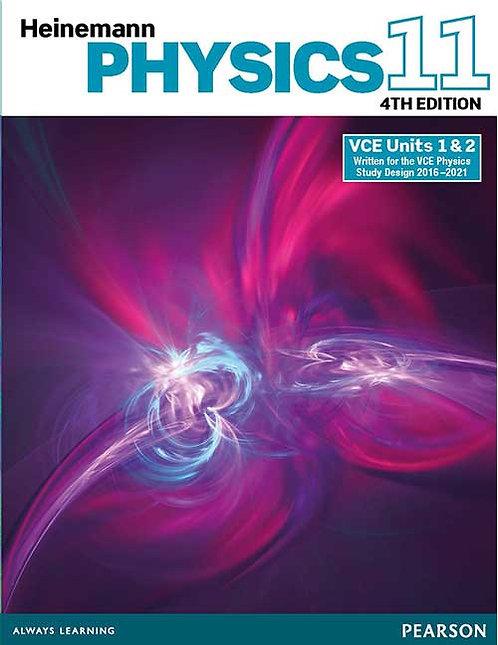 Heinemann Physics 11 Student Book 4E with Reader+ (PRINT + DIGITAL)