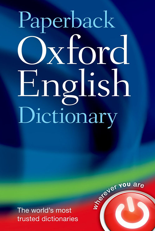 Paperback Oxford English Dictionary 7E