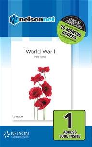 Nelson Modern History: World War I (DIGITAL)