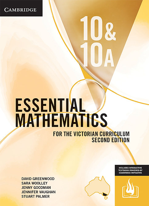 Essential Mathematics for the Victorian Curriculum Year 10 2E (PRINT + DIGITAL)