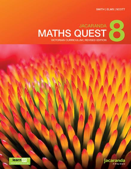 Jacaranda Maths Quest 8 Victorian Curriculum Revised (PRINT + DIGITAL)