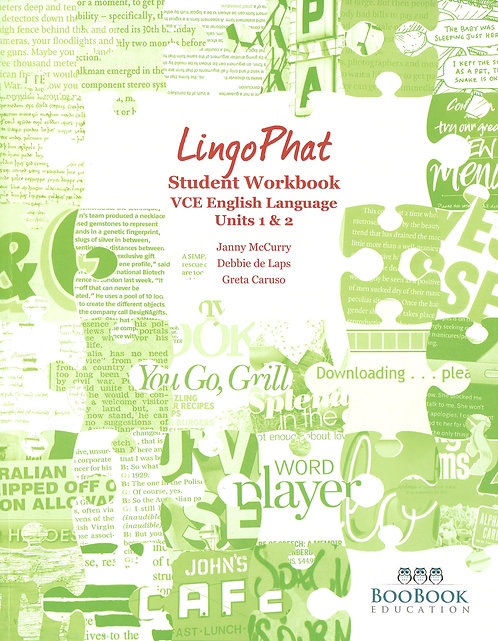 LingoPhat Student Workbook Units 1&2
