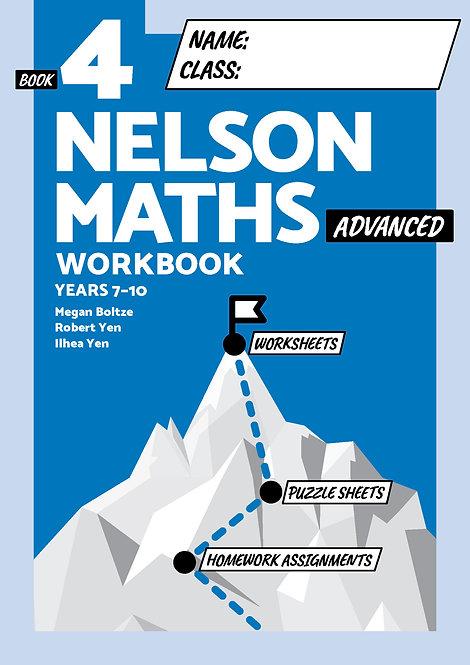 Nelson Maths Workbook 4 Advanced