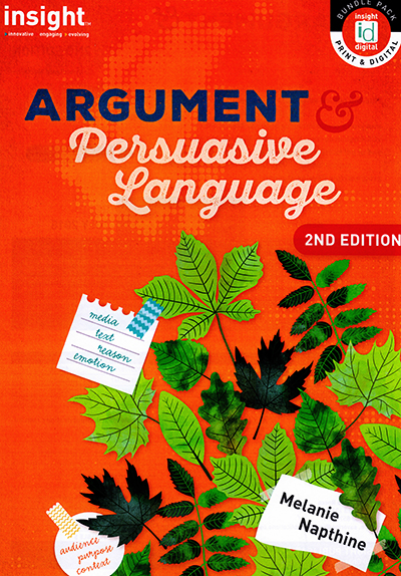 Insight Argument & Persuasive Language 2E (DIGITAL)