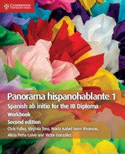 Panorama Hispanohablante 1 Workbook