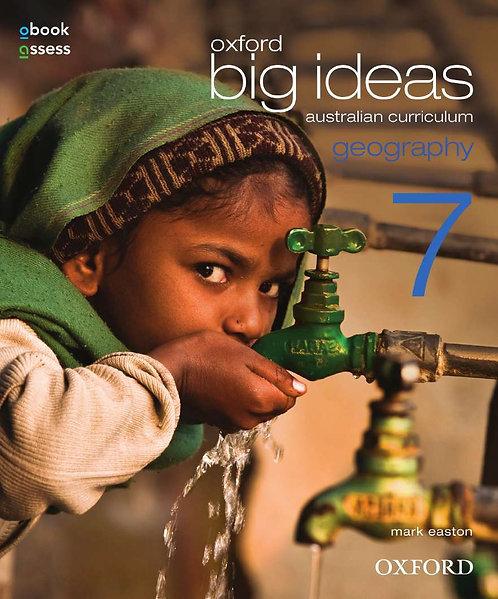 Oxford Big Ideas Geography 7 AC Student book + obook assess (PRINT + DIGITAL)