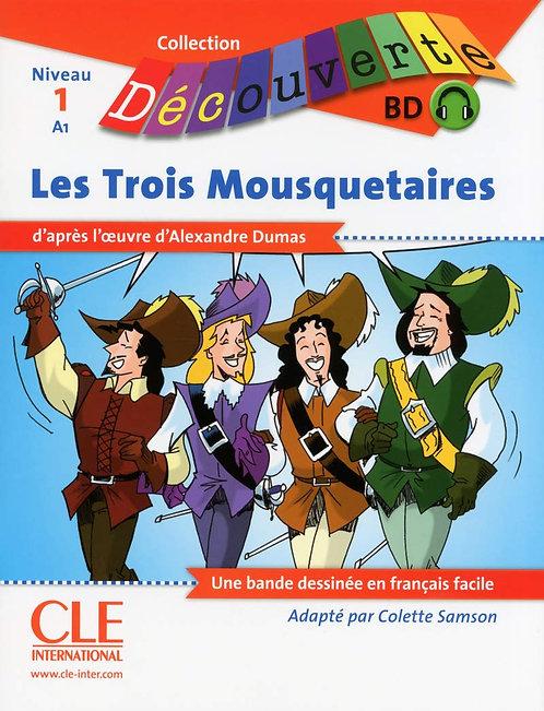 Les trois Mousquetaires - Livre + CD