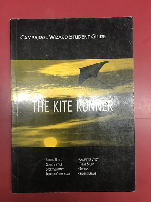 Cambridge Wizard Student Guide: The Kite Runner (SECOND HAND)