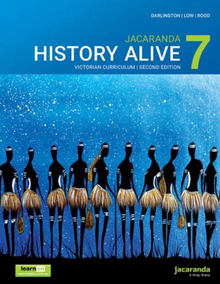 Jacaranda History Alive 7 2E Victorian Curriculum (SECOND HAND)