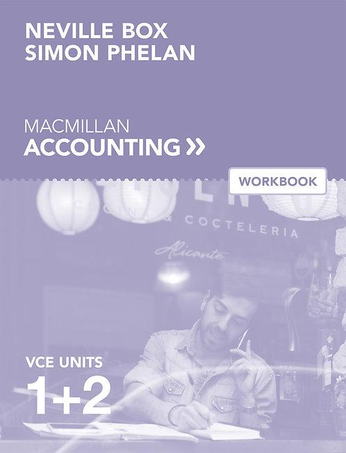 Macmillan VCE Accounting Units 1&2 6E Workbook