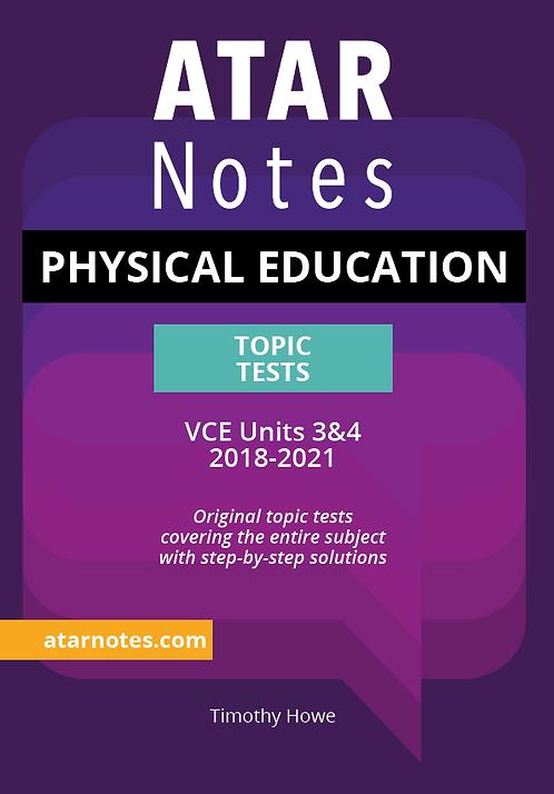 ATARNotes Physical Education Topic Tests Units 3&4