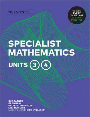 Nelson VCE Specialist Mathematics Units 3&4 Print+4 Access Codes (PRINT+DIGITAL)