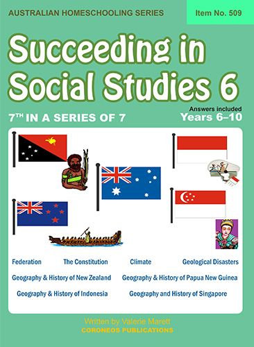 Succeeding in Social Studies Year 6 (Title No. 509)