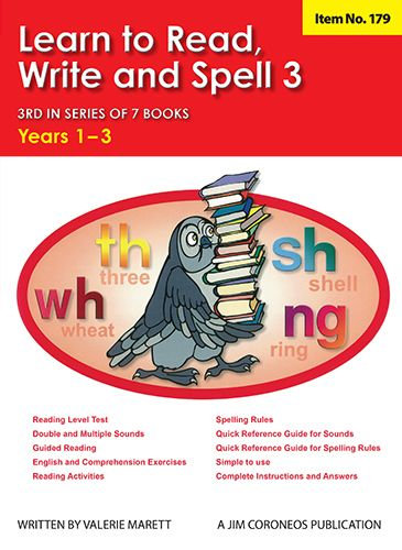 Spell Book 3 Yrs K to 1 (Item no. 179)