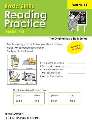 Reading Practice Yrs 1 to 3 (Basic Skills No. 68)
