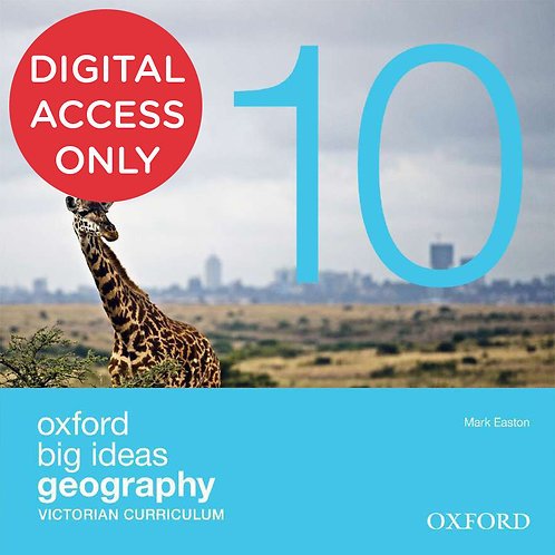 Oxford Big Ideas Geography 10 Victorian Curriculum oBook assess (DIGITAL)