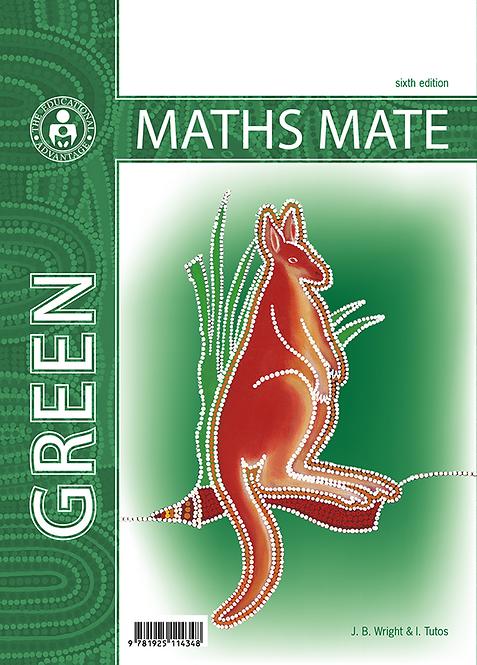 Maths Mate 8 Green Student Pad 6E