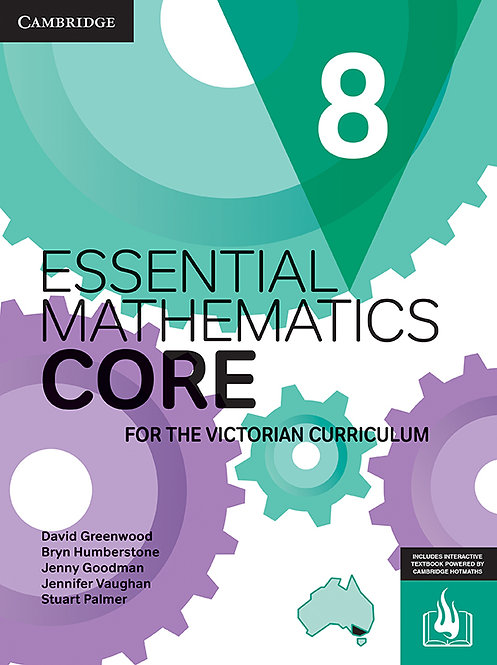 Essential Mathematics CORE for the Victorian Curriculum Year 8 (DIGITAL)
