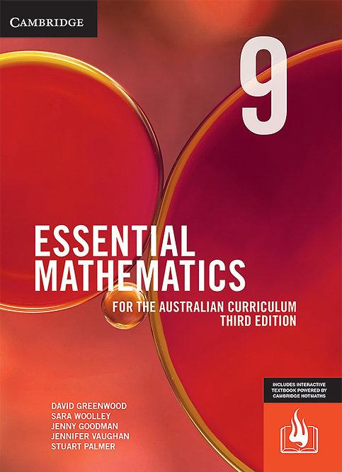 Essential Mathematics for the Australian Curriculum 9 3E (REACTIVATION CODE)