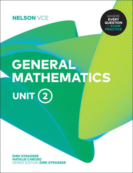 Nelson VCE General Mathematics Unit 2 Print + 4 Access Codes (PRINT + DIGITAL)