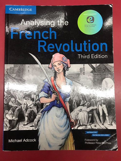 Analysing the French Revolution 3E (SECOND HAND)