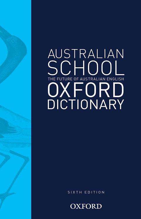Australian School Dictionary 6E