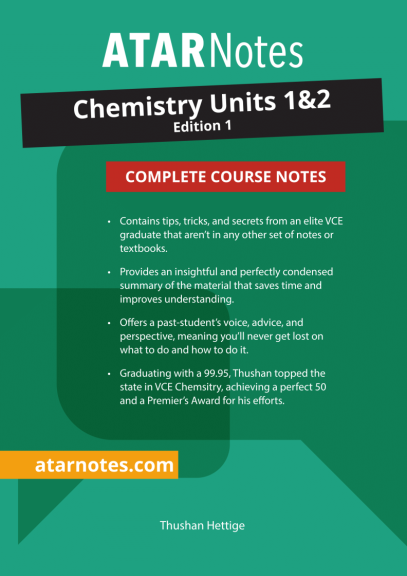 ATARNotes Chemistry Complete Course Notes Units 1&2