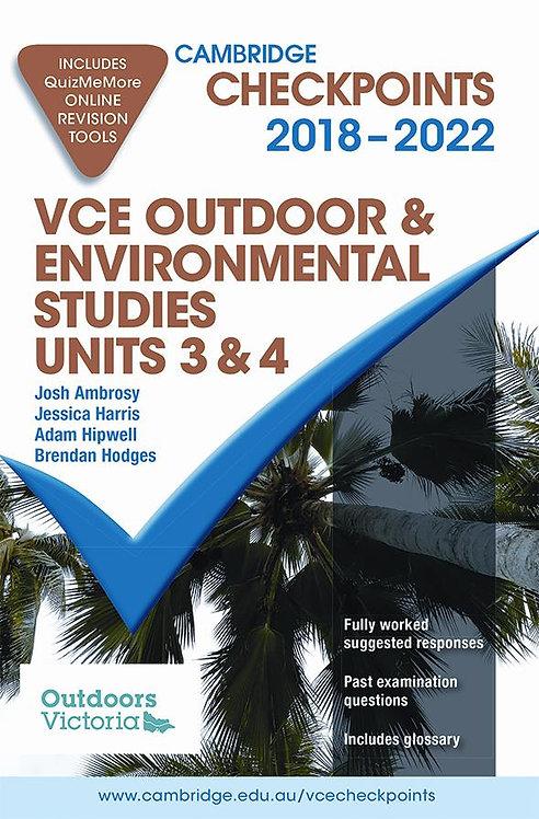 Cambridge Checkpoints VCE Outdoor & Environmental Studies Units 3&4 2019