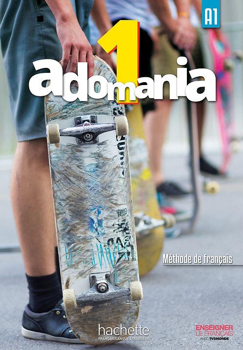 Adomania : Livre de l'eleve 1 + CD-Rom