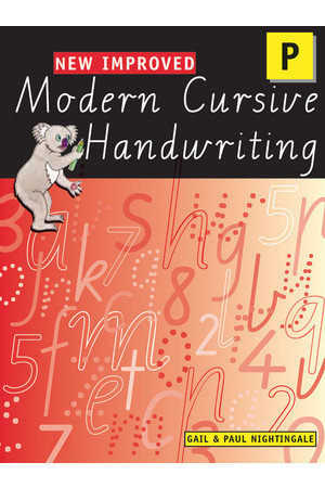 New Improved Modern Cursive Handwriting Victoria Prep
