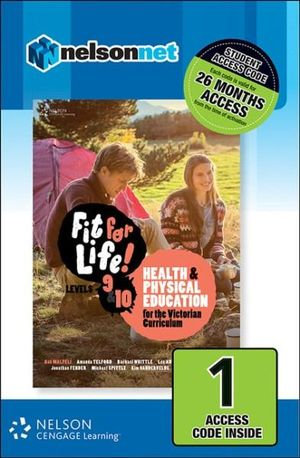 Fit for Life! for Victoria Levels 9 &10 (DIGITAL)